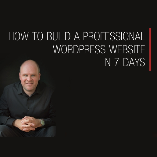 How to build a professional wordpress website in 7 days -product image