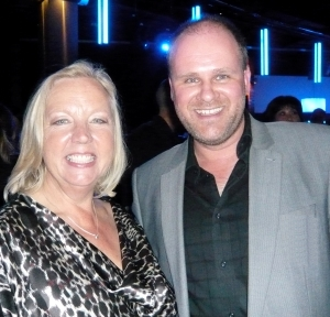 Deborah Meaden and me at the Smarta Awards